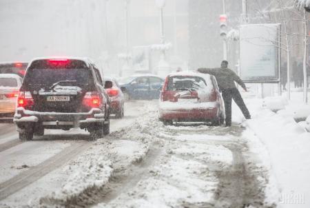 На Кировоградщине ограничили движение всех видов транспорта