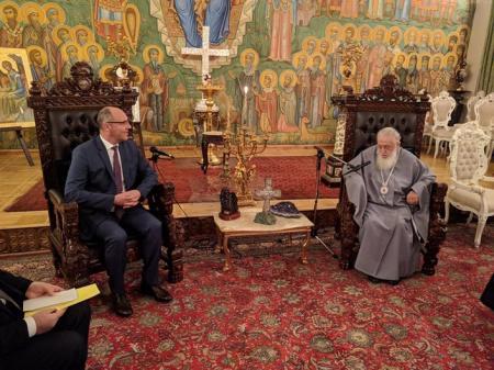 Парубий призвал патриарха Грузии поддержать Томос для Украины