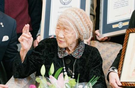 Старейшей жительницей Земли стала 116-летняя японка Кане Танака
