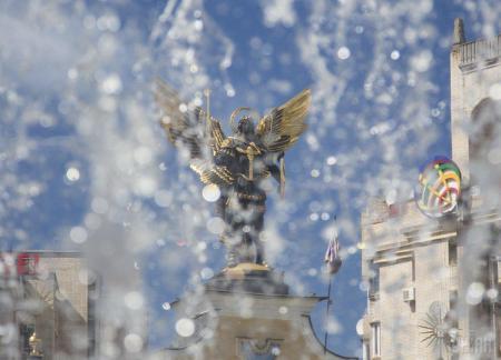 Киев в августе установил