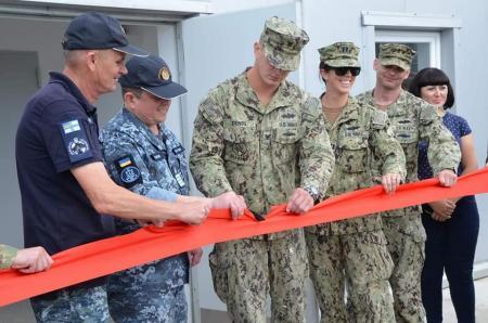 Военные инженеры США построили оперативный центр в Очакове