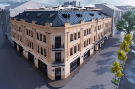 Центральный гастроном на Крещатике после реконструкции будет иметь три этажа