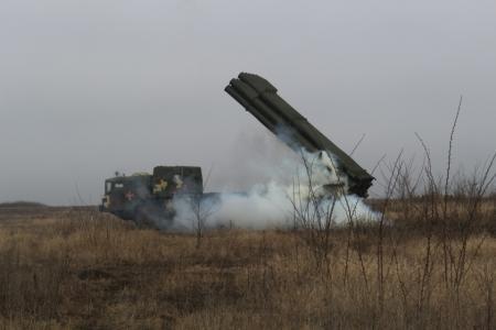 Украинские военные провели учения со