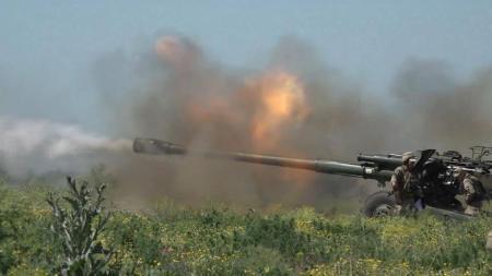 Вертолеты, артиллерия и боевые стрельбы: на Донетчине провели масштабные учения
