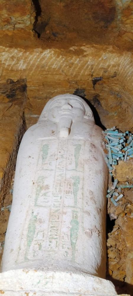 Археологи нашли в Египте саркофаг, которому 2 600 лет