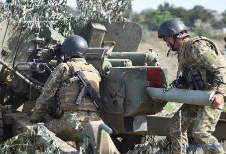 Противотанковые подразделения ВСУ провели учения на «крымском» направлении
