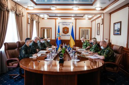 В Нацгвардии обозначили планы усиления сотрудничества с армией Швеции