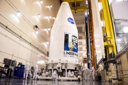 NASA готовится к запуску самого мощного спутника в серии Landsat