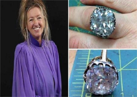 Найденное 33 года назад кольцо обеспечило женщину на всю жизнь