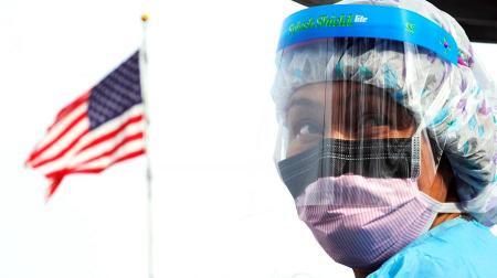 В США за сутки - более 166 500 случаев коронавируса