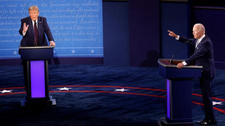 Дебаты в США: Байден назвал Трампа
