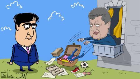 Экс-президент, экс-губернатор и экс-гражданин Саакашвили. Обзор мнений