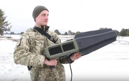 Украинские военные испытывают
