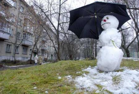 Теплая зима продолжается: дожди, туманы и до + 8°