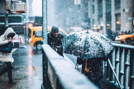 Завтра Украину накроют снегопады