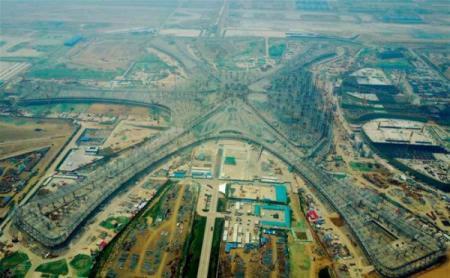 Под Пекином достраивают самый большой аэропорт в мире
