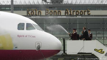 В Германии бастуют работники трех крупных аэропортов