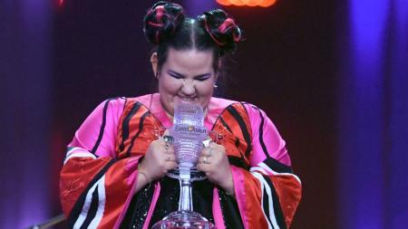 Победительница Евровидения-2018 приехала в Киев на съемки клипа