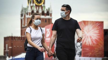 Коронавирус в России: за сутки - более 5,4 тысячи больных, 167 умерших
