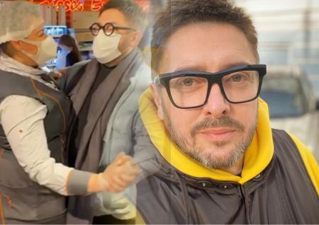 Ведущий ток-шоу «Говорить Україна» устроил романтические танцы в супермаркете