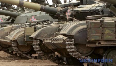 Президент привітав воїнів та ветеранів із Днем танкістів