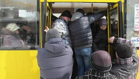 В Киеве с 11 января подорожает проезд в двух маршрутках