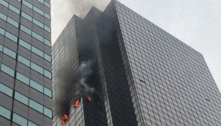 В Нью-Йорке горела «Башня Трампа»: есть жертвы