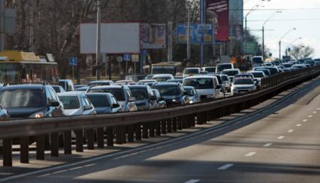 Киев - на седьмом месте в мире по количеству пробок