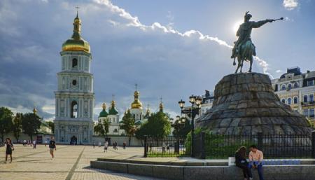 Ryanair будет рекламировать Киев как место для летнего отдыха