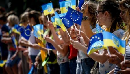Украинцы сегодня отмечают День Европы