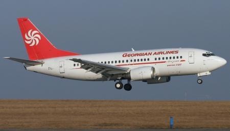 Россия с 8 июля не будет принимать самолеты из Грузии