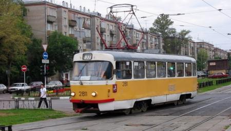 В Киеве временно остановят два трамвайных маршрута