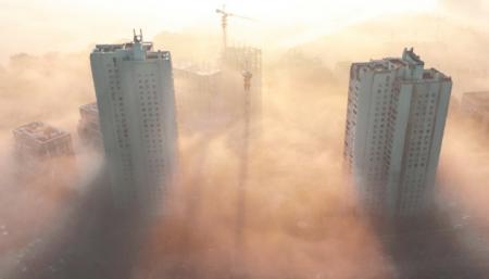 Воздух в Киеве становится все грязнее из-за погоды
