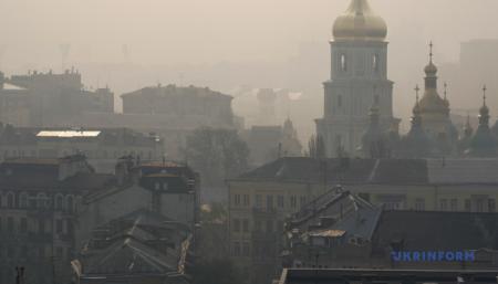 Київ третій день поспіль – у двадцятці міст із найбруднішим повітрям