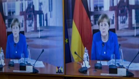 Партия Меркель побеждает на выборах в Саксонии-Анхальт