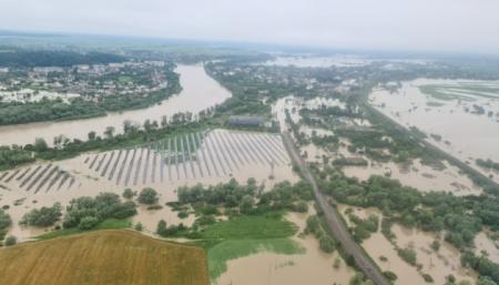 Катастрофические наводнения в Украине с 1998 по 2020 год