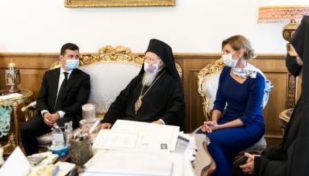 Зеленский пригласил Вселенского патриарха в Украину на 30-ю годовщину Независимости