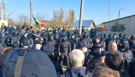 На пункте пропуска Молдовы с Приднестровьем - столкновения