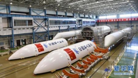 В Китае испытали сверхмощный ракетный двигатель
