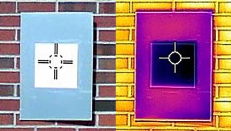 В США создали ультрабелую краску, которая может заменить кондиционер