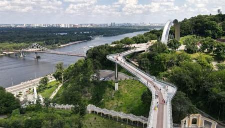 У Києві на «скляному мосту» відкриють фотовиставку «Незалежність – це я. Незалежність – це ми»