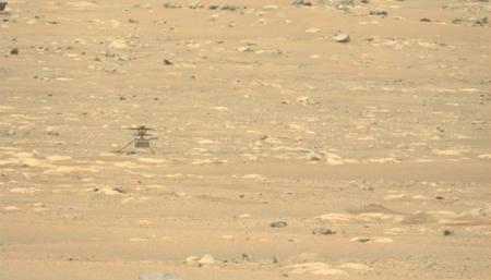 Вертолет NASA не смог с первой попытки осуществить четвертый полет на Марсе