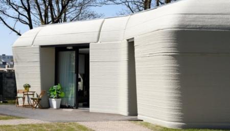 В Нидерландах в дом, напечатанный на 3D-принтере, заселились жильцы