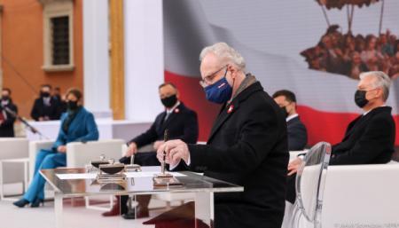 Запад должен поддерживать Украину не только словами, но и действиями - президент Латвии