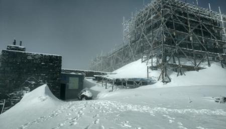 На горе Поп Иван выпало до 20 сантиметров снега