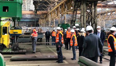 Британские военные эксперты оценивали николаевских судостроителей для строительства ракетных катеров ВМС Украины