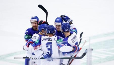 Словаки обыграли британцев, забросив самую быструю шайбу на чемпионате мира-2021 по хоккею