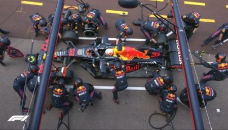 Формула-1: Ферстаппен выиграл Гран-при Монако и стал новым лидером