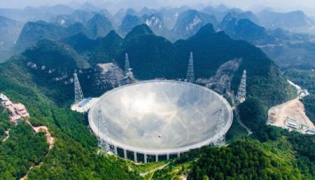 Китайский телескоп передал данные о скорости солнечного ветра всего за 20 секунд