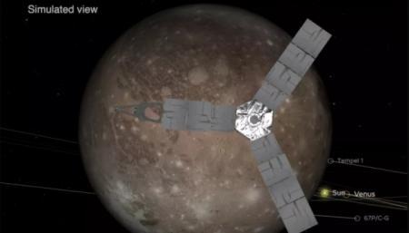 Зонд NASA максимально приблизился к крупнейшему спутнику Солнечной системы